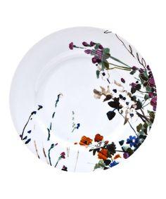 Loving this Wildflower Dinner Plate - Set of Four on #zulily! #zulilyfinds