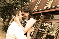 Jen & John's 'Notebook'-inspired engagement shoot » The Click Chick Photography LLC