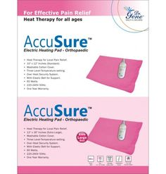 ACCUSURE ELECTRIC HEATING PAD-EXTRA LARGE