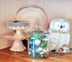 Great way to display fragile or vintage ornaments.