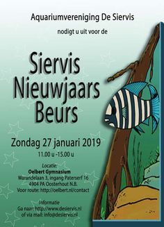2019-01-27-siervis-nieuwjaars-beurs-oosterhout Comic Books, Cover, January 27, Fish, Comic Book, Comics, Blankets, Graphic Novels