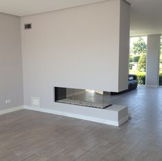 Fireplace Design, Gas Fireplace, Living Room Partition, Interior And Exterior, Interior Design, Partition Design, Modern Staircase, Living Room With Fireplace, Sweet Home