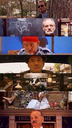 Bill Murray characters.