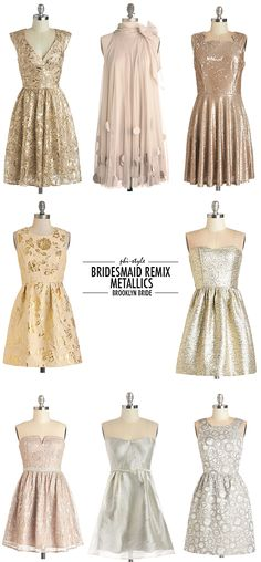 1. Twinkling at Twilight dress, $170 | 2. All Neutral dress, $90 | 3. Poised Philanthropist dress, $345 | 4. Gleam and Glimmer dress, $100 | 5. Shimmer Nights dress, $100 | 6. In Glint Condition dress, $100 | 7. … Continue reading →