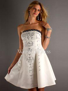 7dc01d4462df Donne Taffettà Bianco Senza Maniche Stile impero Allacciato Corpo a pera abiti  da cerimonia bianchi -