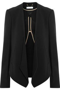 Chloé|Crepe blazer|NET-A-PORTER.COM