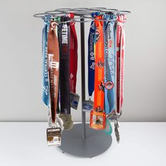 Premier Tabletop Running Race Medal Display