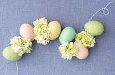 Spring DIY // Easter Egg + Hydrangea Garland