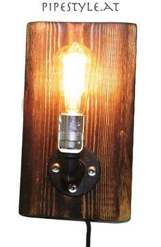 Popular EDLE Wandlampe im Industrie Design retro pipe lamp Lampe Edison