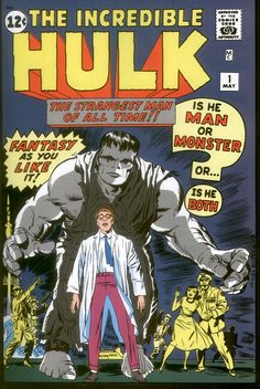 On This Day May 10 1962 The comic TheIncredible Hulk hits newsstandsfor the first time.