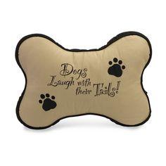 Dog Bone Pillow