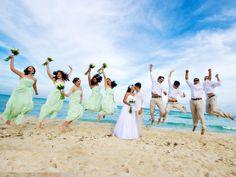 beach wedding bridesmaid dresses mint green