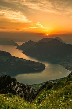 Lake Lucerne: Switzerland