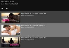 Book Trailers for DIGGING A HOLE (OHellNO, #3) by Mimi Jean Pamfiloff Trailer 2, Book Trailers, Holes Book, Boss Lady, Music, Youtube, Books, Musica, Musik