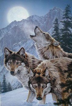 White Wolf: Lee Kromschroeder - American Wildlife Artist Extraordinaire