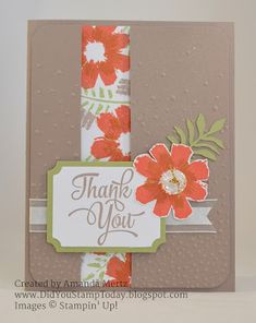 Did You Stamp Today?: All About Thank Yous - Stampin' Up! All About Everything