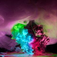 1 | What Do You See In These Dayglo Rorschach Tests? | Co.Design: business + innovation + design