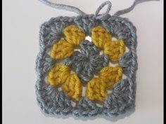granny haken in meerder kleuren / crochet multi coloured granny - YouTube