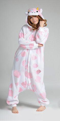 Pink Cow Onesie Kigurumi