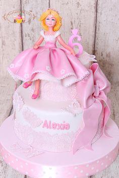 Torturi de vis: Tort cu printesa pentru Alexia