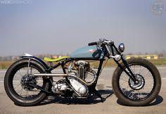 Triumph 3HW 1939 bobber | motocafe.ru | Flickr