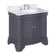 """Katherine 36"""" Single Bathroom Vanity Set"""