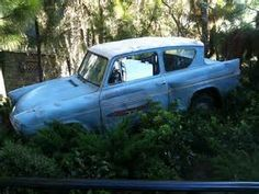Weasley Car Ford Anglia, Abandoned Cars, Car Images, Barn Finds, Yahoo Images, Old Cars, Image Search, Classic Cars, Costume