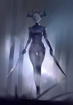 Dautghter of Aku by BenedictWallace.deviantart.com on @DeviantArt