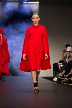 NYNE on the runway at New Zealand Fashion Week.