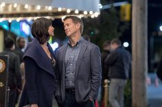 "Cassie (Catherine Bell) and Sam (James Denton) reminisce about the day they met. Make a date with us and tune in to Good Witch, Season 3 - ""How to Say ""I Love You!"" - Sunday 9/8c. #goodies #hallmarkchannel"