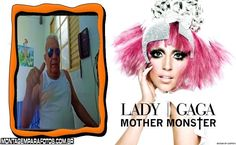 Lady Gaga Mother Monster | Montagem para Fotos