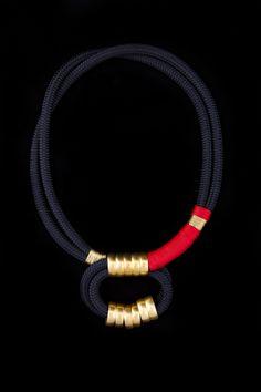 YSWARA FANI Jewellery Collection by Katherine- Mary Pichulik - KHANGA necklace - www.yswara.com