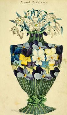 Floral Emblems, 1825, Henry Phillips.