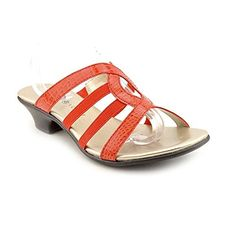 Karen Scott Womens Emet Strappy Slide Sandals Orange Size 70 -- Read more  at the image link. (This is an Amazon affiliate link and I receive a commission for the sales and I receive a commission for the sales)