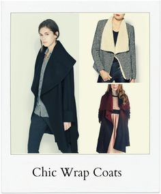 10 Chic Wrap Coats for the Season