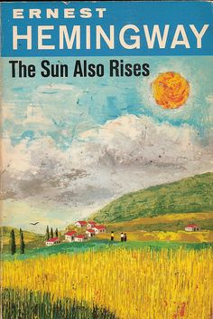 The Sun Also Rises. read this at the very begging of summer, I loved it. great story.