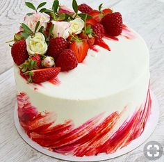 Most up-to-date Free of Charge fruit cake ideas Thoughts - yummy cake recipes Cake Cookies, Cupcake Cakes, Decoration Patisserie, Drip Cakes, Fancy Cakes, Love Cake, Pretty Cakes, Creative Cakes, Cake Creations