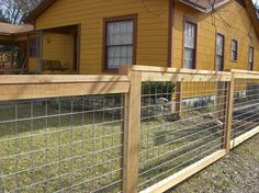 Bull Panel Fence