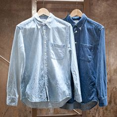 MANUAL ALPHABET 6オンス DENIM BD SHIRTS