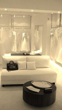 Bridal Shop Interior, Studio Spaces, Bridal Boutique Ideas, Wedding, Gowns