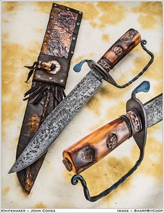 Photos SharpByCoop • Gallery of Handmade Knives - Page 58