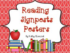 FREE posters to remind your students what to look for when they are close reading! Reading signposts are from the book Notice & Note by Kylene Beers & Robert Probst.
