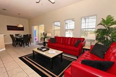 Encantada Resort townhome rental - Large spacious living room and dining room. $139/nite