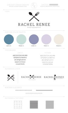 Photographer Personal Logo Design Branding Rach You Are Branded And Out There Shes An Amazing Food Stylist If Need Something