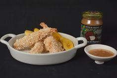 Camarão empanado em tapioca com chutney de cupuaçú | BistroBox - Descubra novos sabores