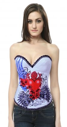 New Corsets fancy dress,christmas fancy dress costumes,disney costumes for adults White Corset, Sexy Corset, Overbust Corset, White Satin, Sailor Fancy Dress, Wrestling Outfits, Wholesale Swimwear, Underwear Online, Male Underwear