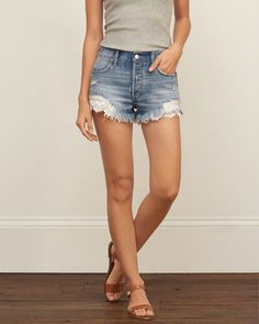 Womens High Rise Festival Shorts