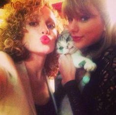 We needed a prop... So I grabbed a cat. -Taylor Swift-