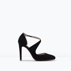 ZARA - WOMAN - ROUND TOE COURT SHOES