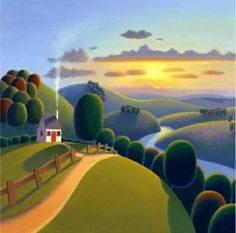 Sunshine Valley by Paul Corfield